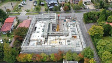 photo: Musée Ando à Karuizawa (Under Construction)