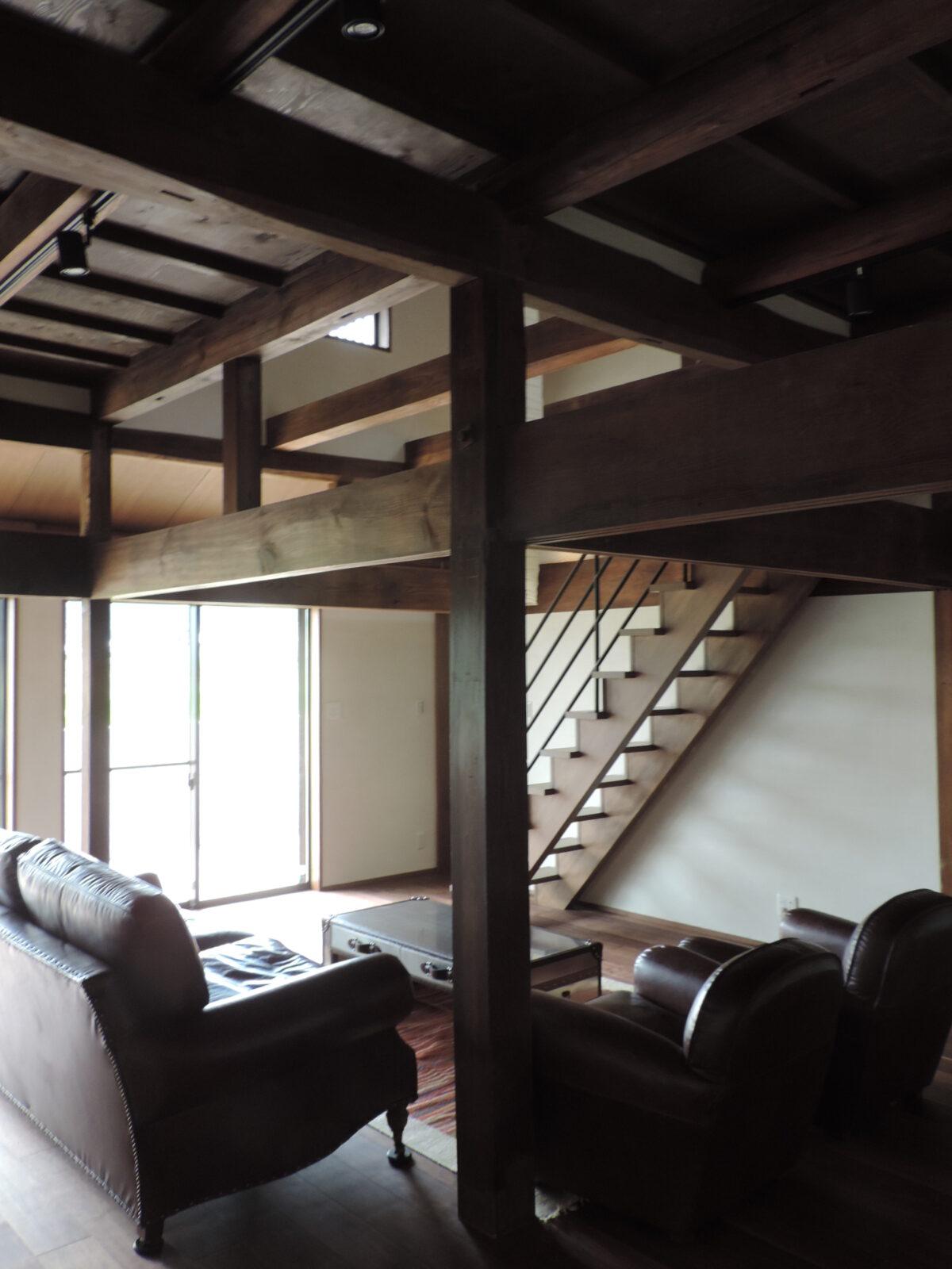 写真:高取の家(内観)