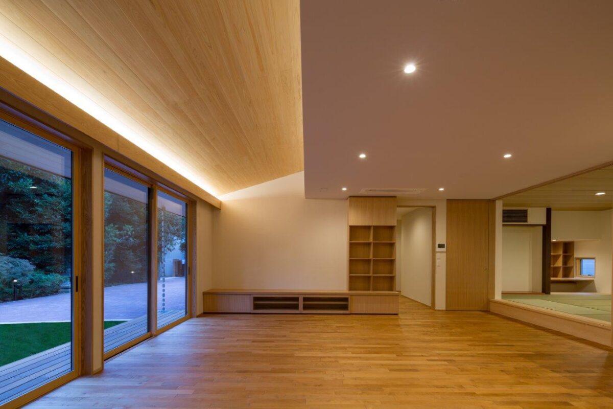 写真:上大崎の家(内観)