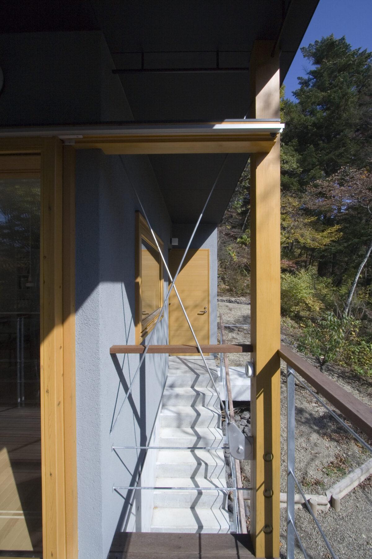 写真:吉ケ沢の山荘(外観)