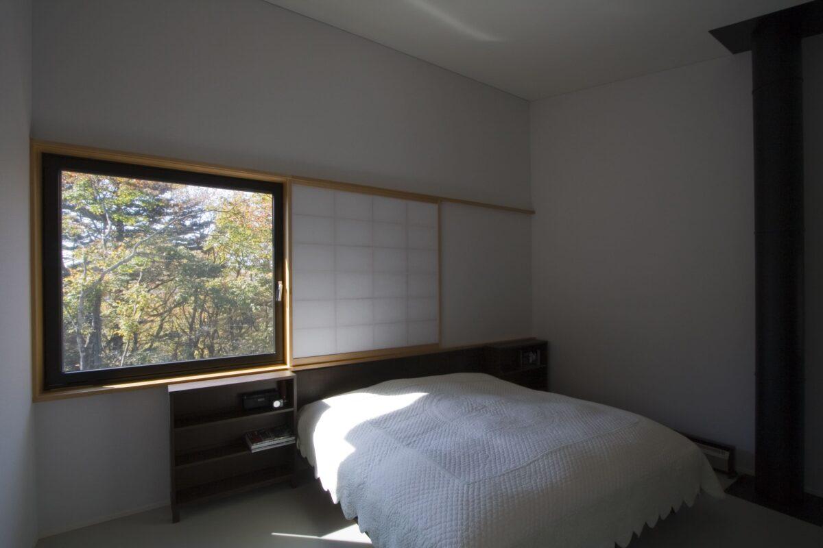 写真:吉ケ沢の山荘(内観)