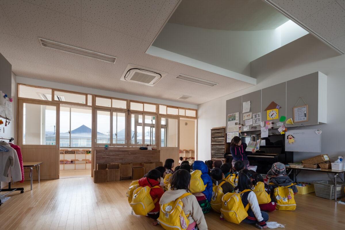 写真:福知山聖マリア幼稚園(内観)