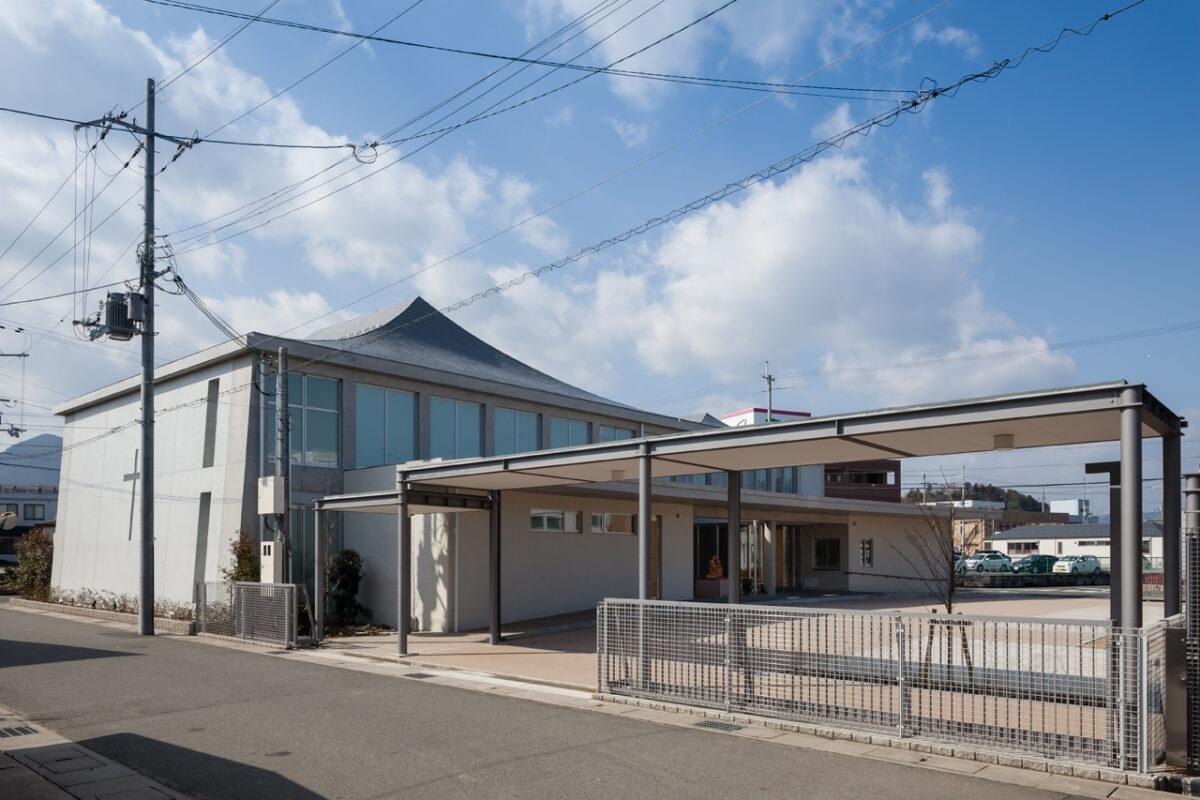 写真:カトリック京都司教区カトリック福知山教会(外観)