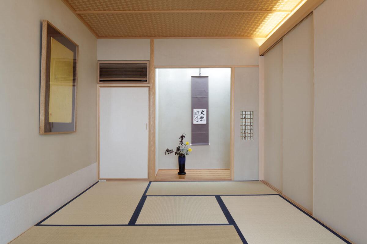 写真:諏訪山の家(内観)