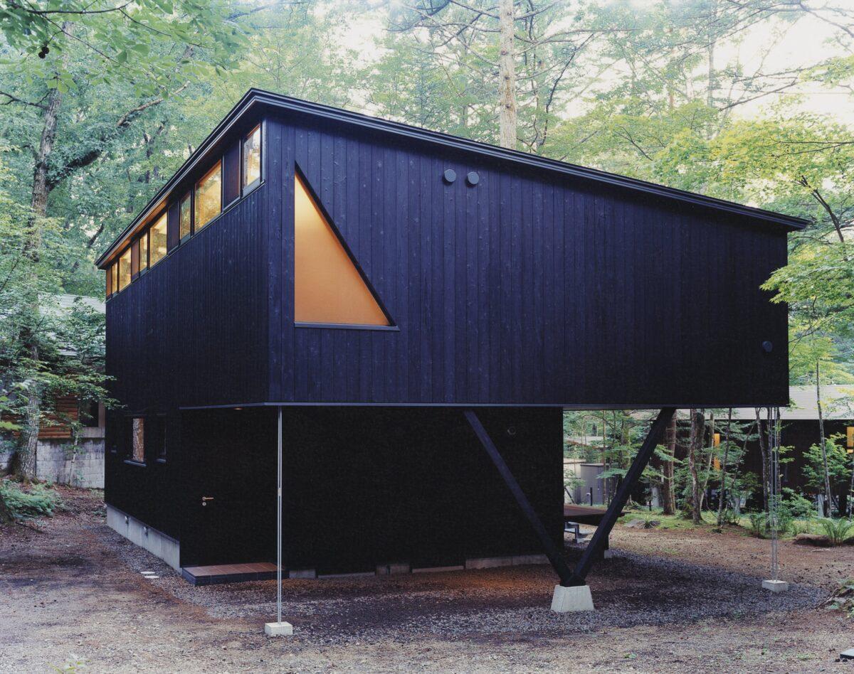 愛宕の山荘(外観)