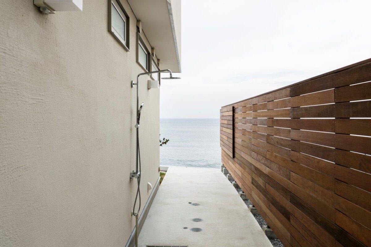 写真:三浦海岸の別荘(外観)