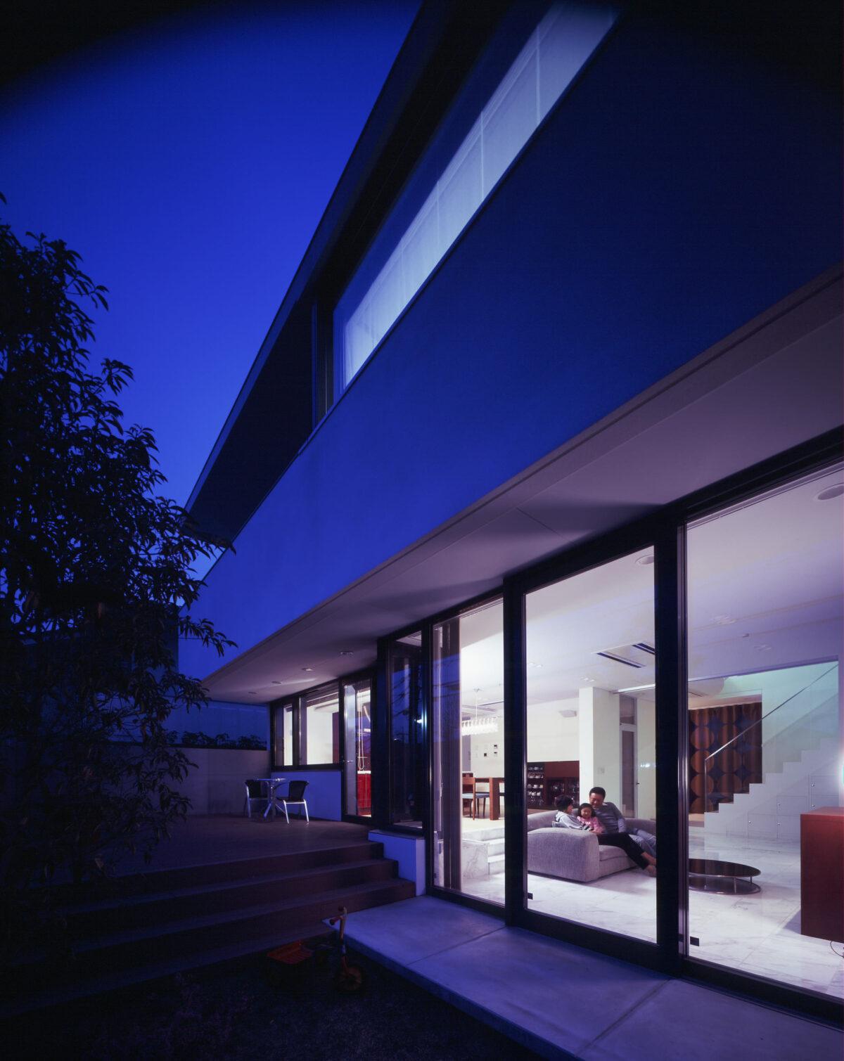 写真:青山台の家 外観