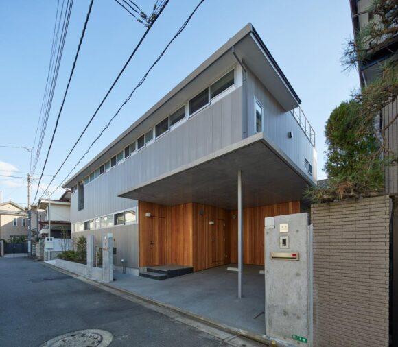 写真:石神井公園の家(外観)